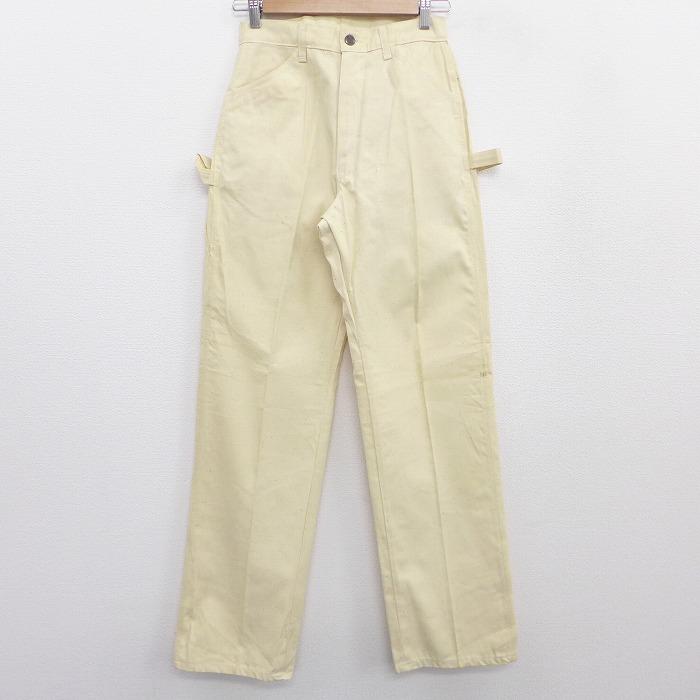 古着 ペインター パンツ 80年代 80s DEECEE コットン USA製 生成り 【spe】 20oct15 中古 ボトムス