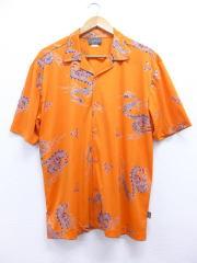 L★古着 半袖 シャツ 90年代 龍 USA製 オレンジ 【spe】 19jun14 中古 メンズ トップス