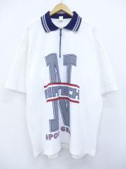 XL★古着 半袖 トップス 90年代 N AIR 大きいサイズ ロング丈 USA製 白 ホワイト 【spe】 19aug09 中古 メンズ