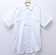 XL★古着 半袖 ワークシャツ 90年代 90s ビックマック BIG MAC デッドストック 白 ホワイト 【spe】 20jun04 中古 メンズ トップス