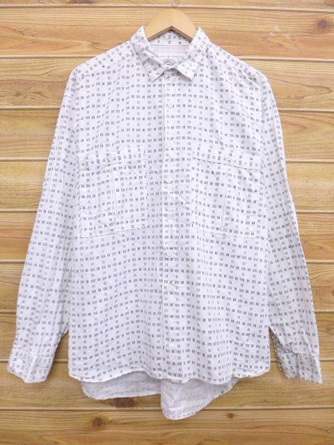 L★古着 長袖 シャツ 90年代 白 ホワイト 【spe】 18aug09 中古 メンズ トップス