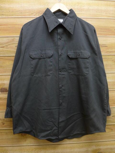 XL★古着 長袖 ワーク シャツ 70年代 ビッグマック BIG MAC 緑 グリーン 18apr17 中古 メンズ トップス
