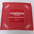 中古 バンダナ 80年代 80s オシュコシュ OSHKOSH ユニオンメイド 赤 レッド ドット 21mar13