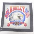 中古 ハーレーダビッドソン Harley Davidson バンダナ 90年代 90s 鳥 USA製 グレー 21jun15