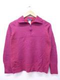 古着 レディース ブランド セーター パタゴニア patagonia メリノウール 紫 パープル 19oct21 中古 ニット トップス