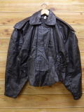 古着 レディース レザー ジャケット 90年代 USA製 黒 ブラック 17dec26 中古 アウター 革ジャン 皮ジャン