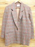 古着 レディース テーラード ジャケット 80年代 ペンドルトン PENDLETON ウール USA製 ベージュ他 カーキ 18jan12 中古 アウター ジャンパー ブルゾン