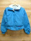 古着 レディース ジャケット 80年代 パウダーホーン USA製 水色 18jan19 中古 アウター ジャンパー ブルゾン WS