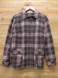 古着 レディース ウール ジャケット 80年代 ペンドルトン PENDLETON USA製 こげ茶 ブラウン チェック 18jan22 中古 アウター ジャンパー ブルゾン