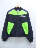 古着 レディース レーシング ジャケット 90年代 TEAM 黒他 ブラック 19sep13 中古 アウター ジャンパー ブルゾン