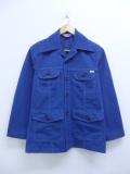 古着 長袖 サファリ ジャケット 70年代 シアーズ 紺 ネイビー 19oct03 中古 アウター ジャンパー ブルゾン