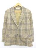 古着 レディース 長袖 テーラード ジャケット 80年代 ペンドルトン PENDLETON ウール USA製 ベージュ他 カーキ 19oct11 中古 アウター ジャンパー ブルゾン