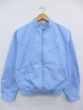 古着 レディース 長袖 ブランド ジャケット スイングトップ 90年代 ラングラー Wrangler ワンポイントロゴ USA製 薄紺 ネイビー 19oct14 中古 アウター ジャンパー ブルゾン