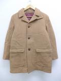 古着 レディース 長袖 ジャケット コート 70年代 マイティーマック ウール 茶 ブラウン 19oct15 中古 アウター ジャンパー ブルゾン