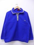 古着 長袖 ブランド フリース ジャケット パタゴニア patagonia スナップT 青他 ブルー 19nov04 中古 アウター ジャンパー ブルゾン