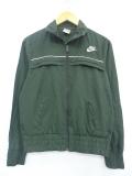 古着 長袖 ブランド ジャケット ナイキ NIKE ワンポイントロゴ 緑 グリーン 19nov05 中古 アウター ジャンパー ブルゾン