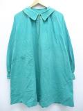 古着 レディース 長袖 ビンテージ ジャケット 50年代 大きいサイズ ロング丈 緑 グリーン 19nov06 中古 アウター ジャンパー ブルゾン