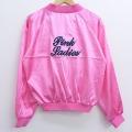 古着 レディース 長袖 ジャケット PINK Ladies 刺繍 ラグラン ピンク 20mar13 中古 アウター ジャンパー ブルゾン