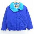 古着 レディース 長袖 ダウン ジャケット 90年代 90s エルエルビーン LLBEAN USA製 青 ブルー 20nov26 中古 アウター ジャンパー ブルゾン