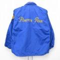 古着 長袖 ビンテージ ナイロン ジャケット 70年代 70s ラッセル ソフトボール Power チェーンステッチ刺繍 USA製 青 ブルー 【spe】 21feb10 中古 アウター ウインドブレーカー