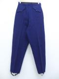 古着 レディース ジョッパーズ パンツ 70年代 ウール タロン 紺 ネイビー 19sep11 中古 ボトムス
