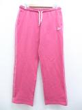 古着 レディース ブランド スウェット パンツ アディダス adidas ワンポイントロゴ ピンク 3本ライン 19oct10 中古 ボトムス