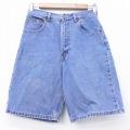 古着 ショート パンツ ショーツ カルバンクライン Calvin Klein コットン 紺 ネイビー デニム 20may11 中古 ボトムス 短パン ショーパン ハーフ