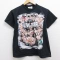 古着 半袖 ビンテージ Tシャツ 00年代 00s ワールドプロレスリング ジアンダーテイカー ジョンシナ クルーネック 黒 ブラック 21apr23 中古