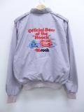 L★古着 ジャケット 90年代 ミラー ビール 刺繍 薄紫 パープル 19aug29 中古 メンズ アウター ジャンパー ブルゾン