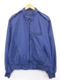 L★古着 長袖 ジャケット メンバーズオンリー スタンドカラー 紺 ネイビー 19sep16 中古 メンズ アウター ジャンパー ブルゾン