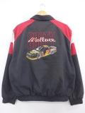 XL★古着 長袖 レーシング ジャケット 90年代 レーシングカー ミラー USA製 黒他 ブラック 19sep16 中古 メンズ アウター ジャンパー ブルゾン