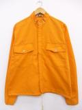 L★古着 長袖 ビンテージ ジャケット 70年代 スタンドカラー オレンジ 19sep16 中古 メンズ アウター ジャンパー ブルゾン