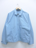 M★古着 長袖 ビンテージ ジャケット 70年代 キャンパス スイングトップ タロン USA製 水色 19sep16 中古 メンズ アウター ジャンパー ブルゾン