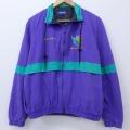 L★古着 長袖 ジャケット 90年代 90s ケンタッキーダービー コットン USA製 紫 パープル 19nov13 中古 メンズ アウター ジャンパー ブルゾン
