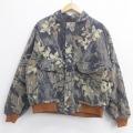 XL★古着 長袖 ジャケット リアルツリー 大きいサイズ 迷彩 19nov22 中古 メンズ アウター ジャンパー ブルゾン