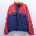 XL★古着 長袖 セーリング ジャケット 大きいサイズ 赤 レッド 19dec12 中古 メンズ アウター ジャンパー ブルゾン