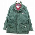 L★古着 長袖 ジャケット 90年代 90s ヒルトン SOUTH ラグラン コットン 緑 グリーン 21jan04 中古 メンズ アウター ジャンパー ブルゾン