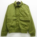 M★古着 長袖 ジャケット 90年代 90s SASSON 緑 グリーン 21feb25 中古 メンズ アウター ジャンパー ブルゾン