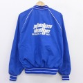 XL★古着 長袖 ジャケット 80年代 80s キングルイ phelps dodge ラグラン USA製 青 ブルー 21mar23 中古 メンズ アウター ジャンパー ブルゾン