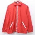 L★古着 長袖 ジャケット スイングトップ 80年代 80s ジャンセン ラグラン USA製 赤 レッド 21apr02 中古 メンズ アウター ジャンパー ブルゾン