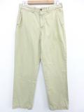 W34★古着 ブランド パンツ 90年代 ラルフローレン Ralph Lauren コットン 薄ベージュ カーキ 19oct25 中古 メンズ ボトムス ロング