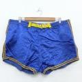 W40★古着 ビンテージ ショート トレーニング パンツ ショーツ 70年代 70s エンパイア 大きいサイズ 青 ブルー ライン 20apr28 中古 メンズ ボトムス 短パン ショーパン