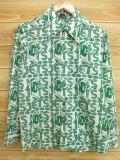 S★古着 長袖 シャツ 70年代 NFL ニューヨークジェッツ 緑 グリーン 【spe】 18aug28 中古 メンズ トップス