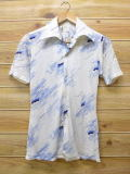 XS★古着 半袖 シャツ 70年代 白 ホワイト 18jun06 中古 メンズ トップス WS
