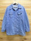 XL★古着 シャツ ジャケット 70年代 ラングラー Wrangler USA製 デニム 18jun19 中古 メンズ アウター