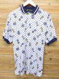 L★古着 ポロ シャツ 90年代 ジャックニクラウス トロフィー 白 ホワイト 18may08 中古 メンズ 半袖 トップス