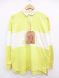 XL★古着 長袖 ラガー シャツ 80年代 コカコーラ デッドストック USA製 黄他 イエロー 【spe】 19sep05 中古 メンズ トップス