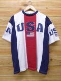 L★古着 半袖 トップス 90年代 USA USA製 白 ホワイト 18mar09 中古 メンズ
