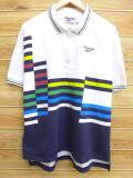 XL★古着 半袖 トップス 90年代 リーボック REEBOK 白 ホワイト 【spe】 18may22 中古 メンズ