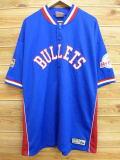 XL★古着 半袖 シャツ NBA ボルティモアブレッツ 大きいサイズ 青 ブルー ユニフォーム 野球 18may22 中古 メンズ トップス
